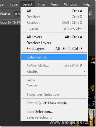 teknik membuat efek HDR photoshop