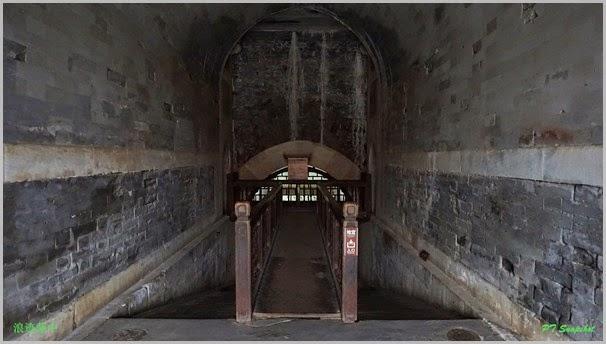 前往慈禧陵地宫的地道