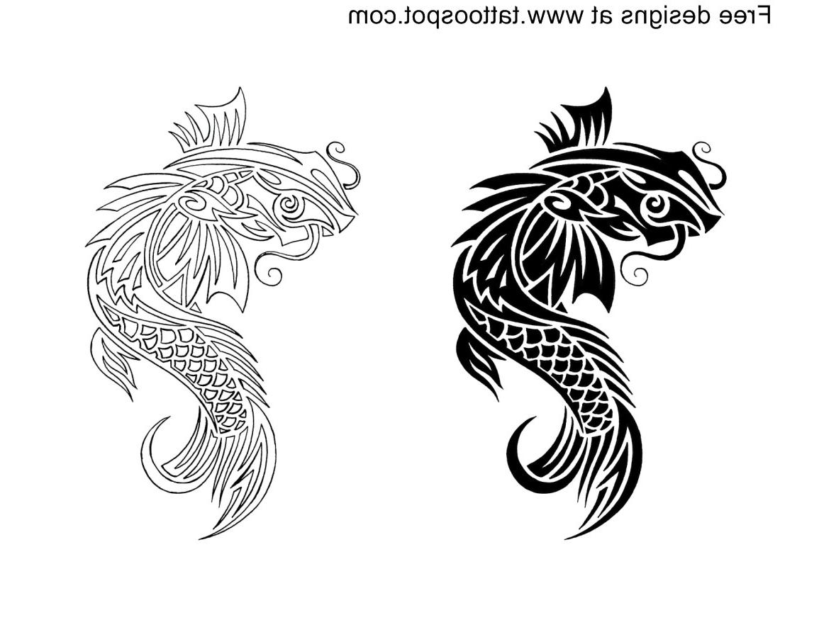 japanese koi tattoo designs