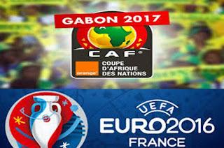 Les résultats des éliminatoires CAN 2017 et Euro 2016