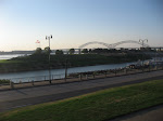 A view of the riverfront in Memphis TN 07202012