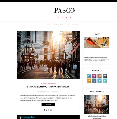 pasco-template