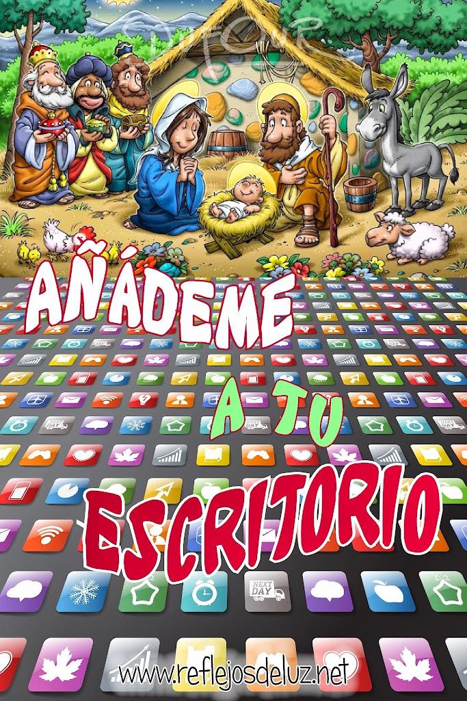 03 Escritorio navidad tablet