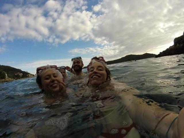 Dubrovnik sea kayaking snorkeling