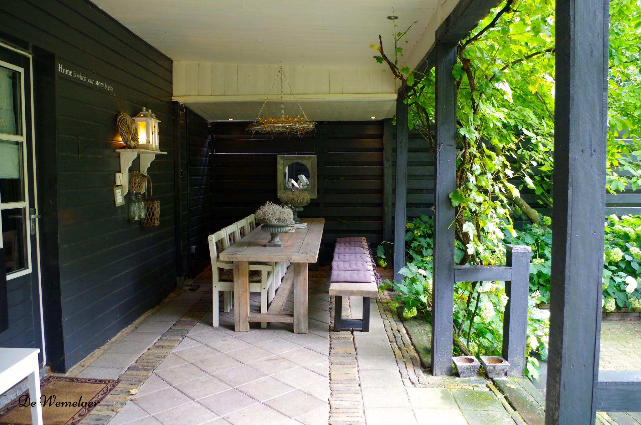 Binnenkijken sfeerproeven bij yvonne en bart de wemelaer - Beelden van verandas ...