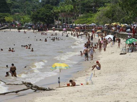 Praia de Murubira - Ilha de Mosqueiro, Belém do Parà,Foto: Camila Lima
