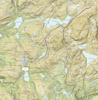 Podzimní Bergsdalen trasa.png