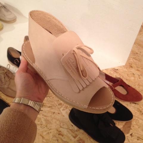 Clarks Originals sandal with tassel for Spring/Summer 2016