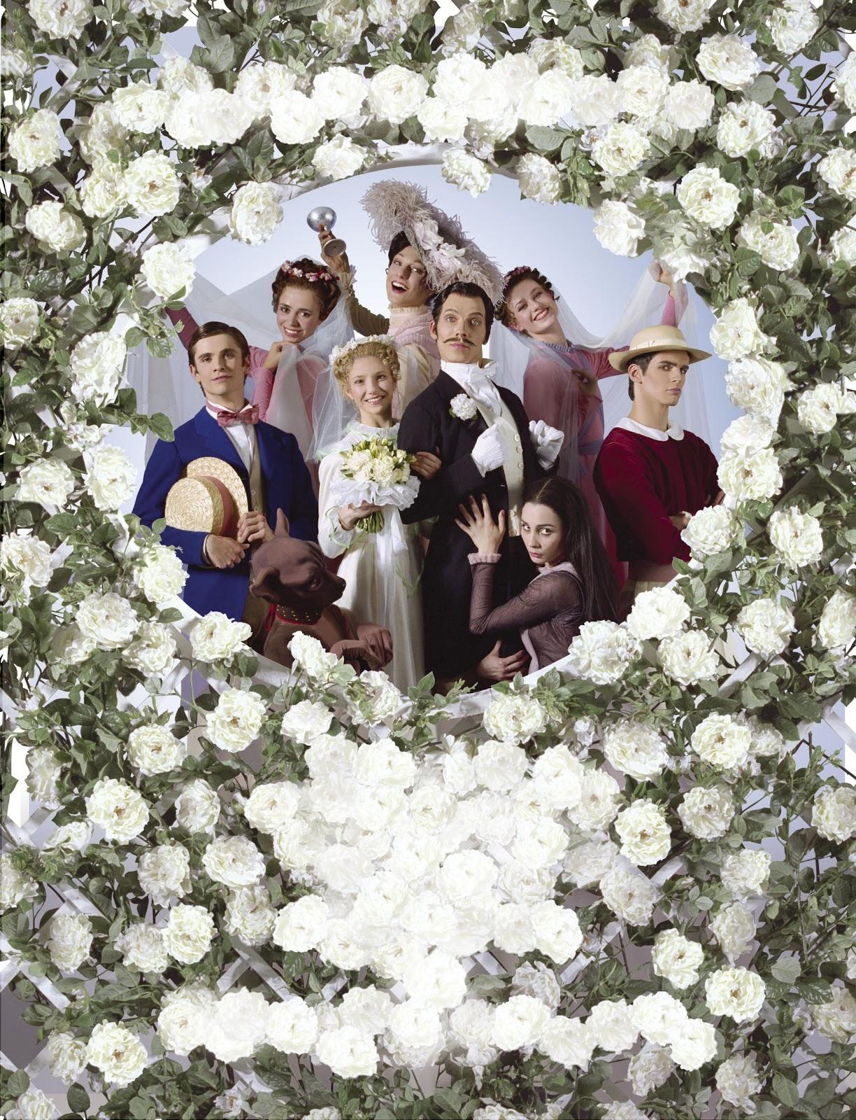 A Wedding Bouquet centre