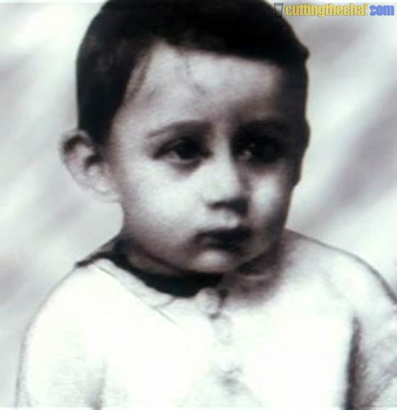 Jackie Shroff (Baby and youth photos)