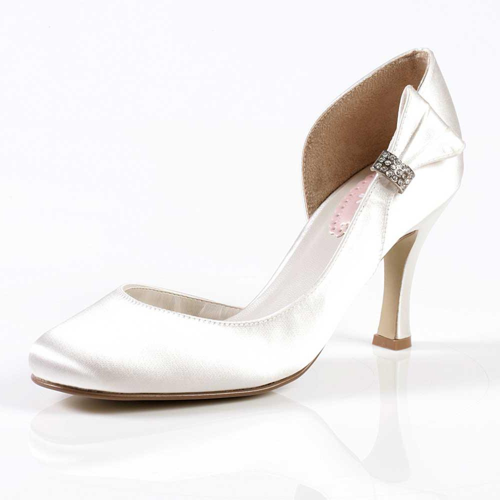Puff Wedding Shoes - Pink By