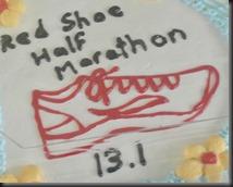 Half marathon....CAKE!   WILL RUN FOR CAKE!