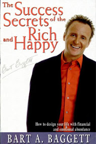 Cover of Bart Baggett's Book Success Secrets Of The Rich And Happy