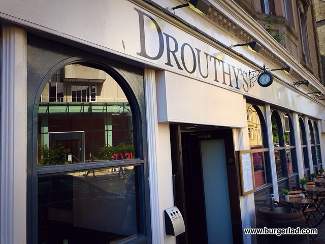 Drouthy's Scotsman Burger