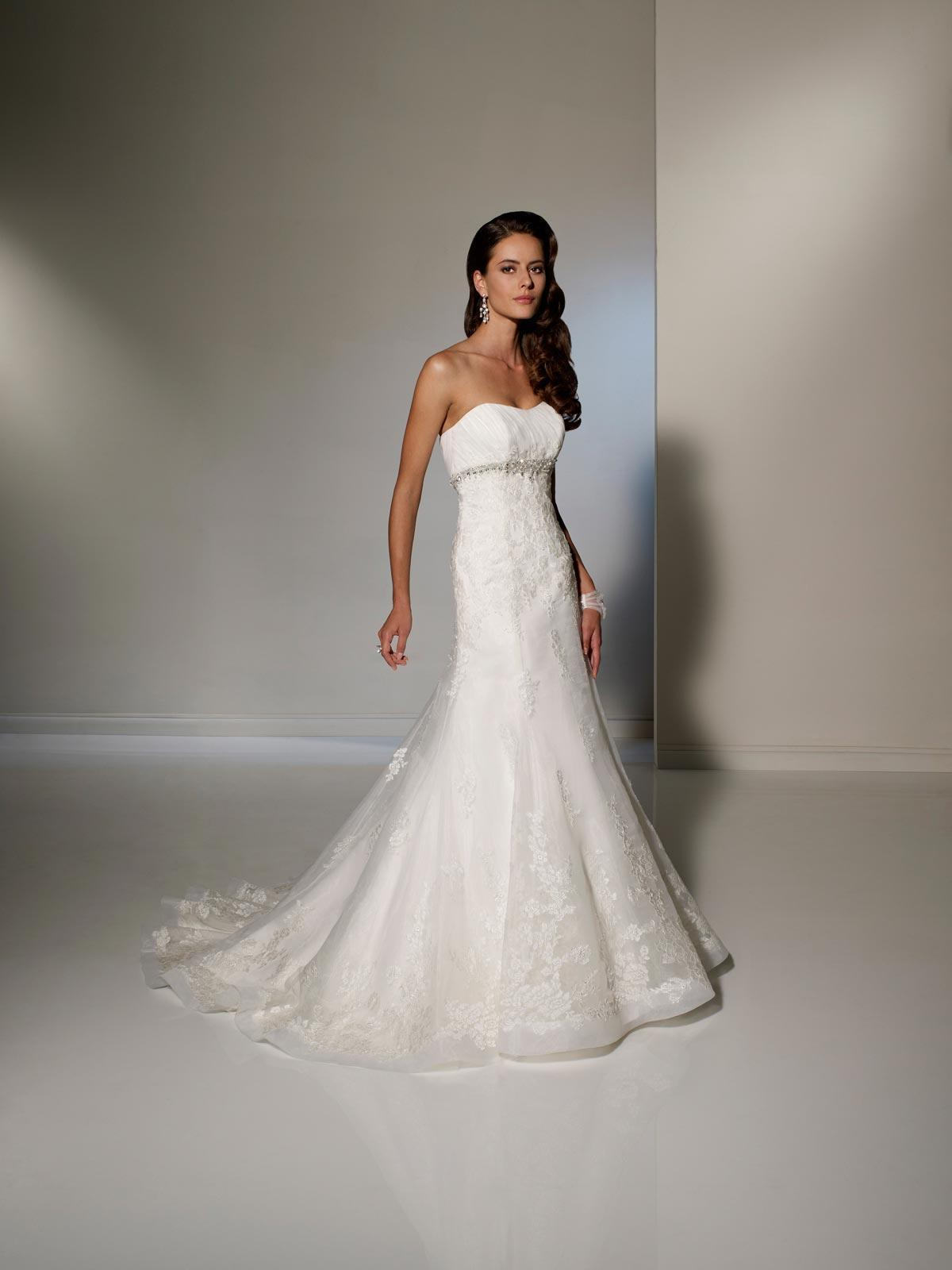 Romantic Wedding Gown Crystal