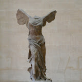 Nike of Samothrace, also Hellenistic Greek
