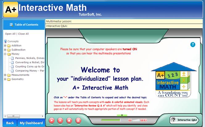 1st Grade Multimedia Lessons