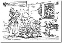 2quemar los libros de Don Quijote 1
