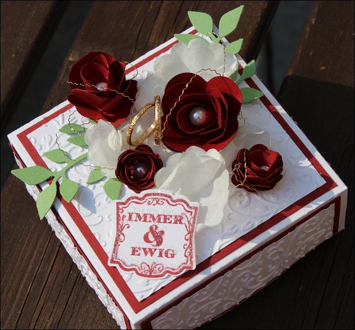 Explosion Box Love Wedding Hochzeit Cake 103