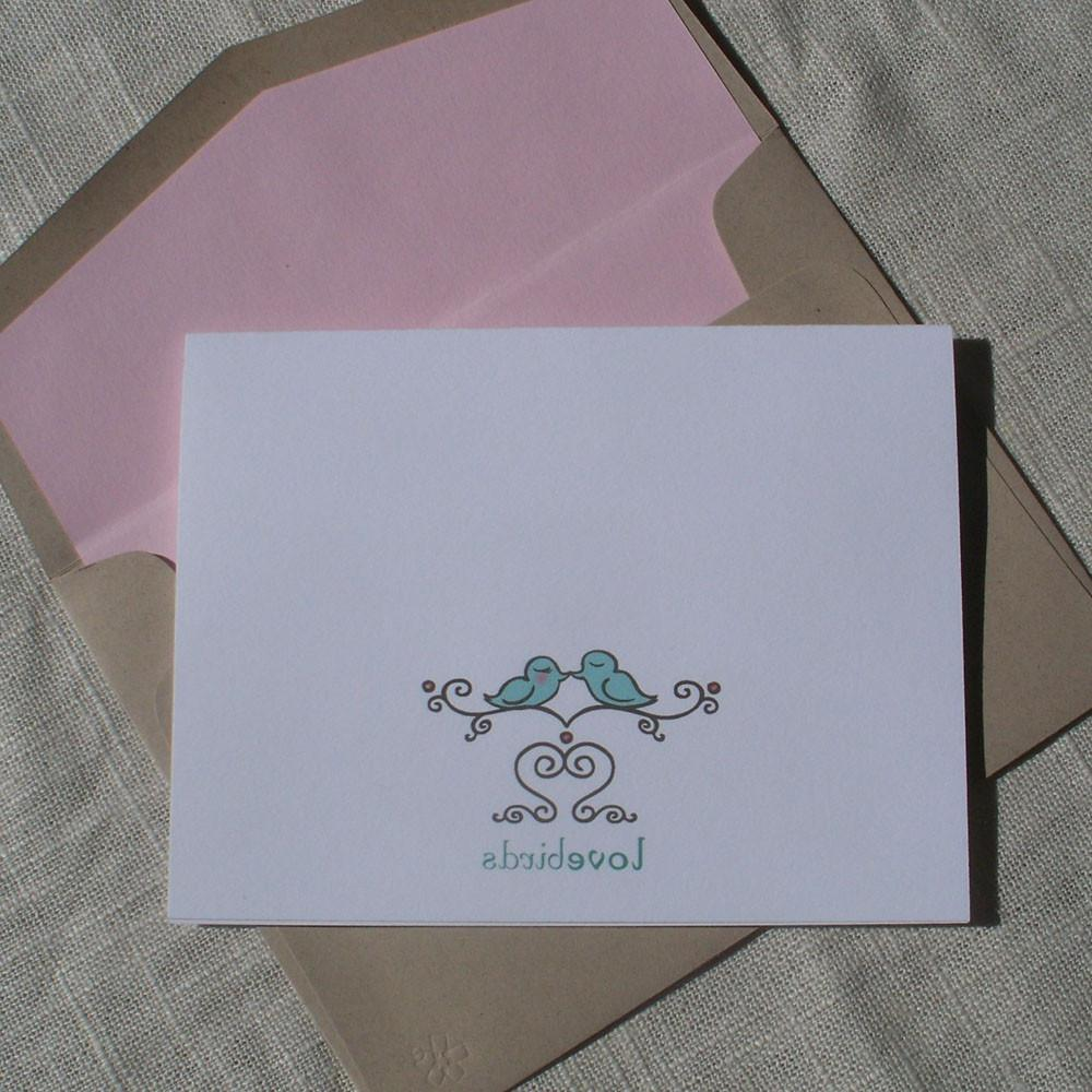 wedding lined envelope