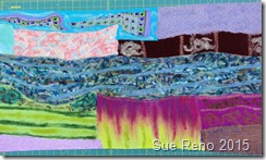 In Dreams I Learned to Swim, by Sue Reno, Work in Progress, Image 2