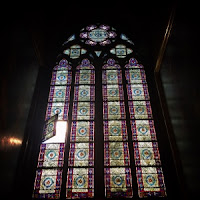 Notre Dame stained glass windows