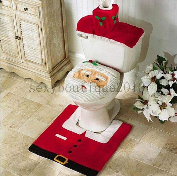 Santa bathroom set