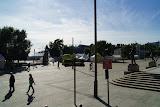 Nabij de haven van Oslo