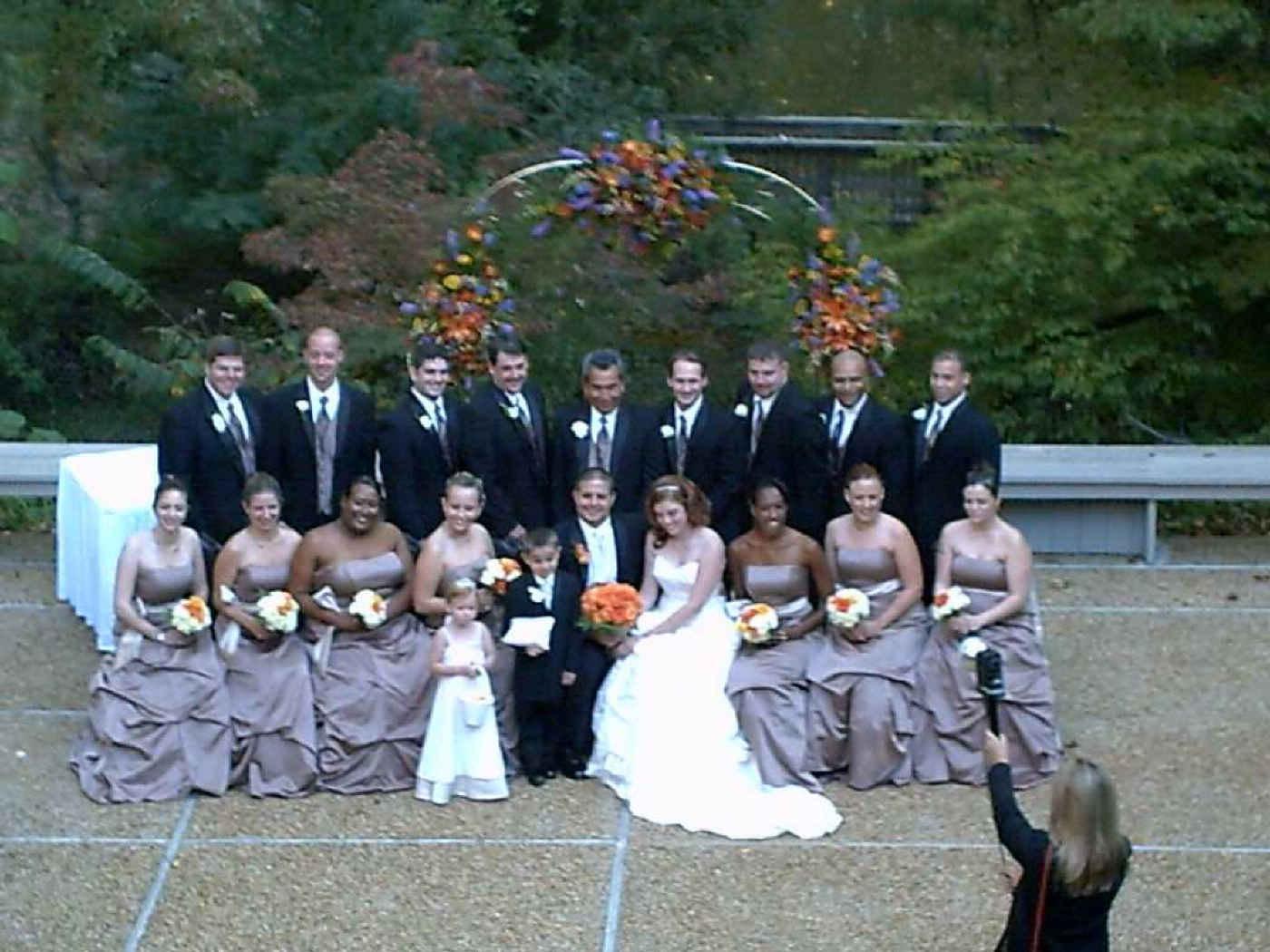 Wedding Group Photo of Nathan