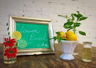 lemon basil ade