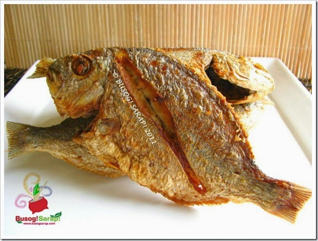 FRIED FISH (BREAM)© BUSOG! SARAP! 2011
