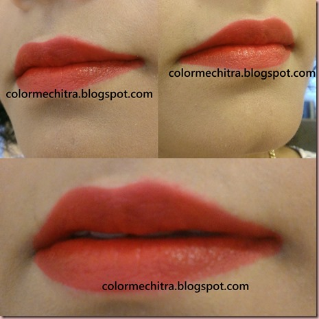 Chitra Pal NYX Liquid Suede Cream Lipstick in Kitten Heels (2)