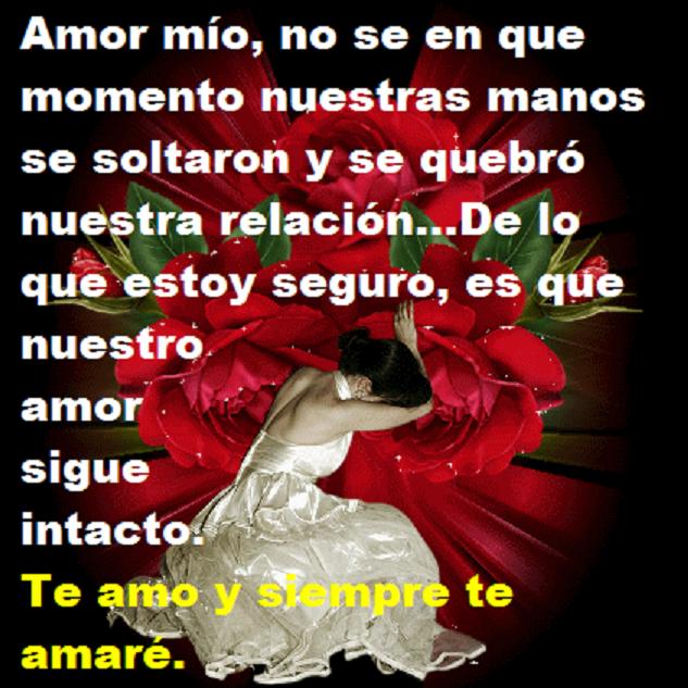 Imagenes con lindos ositos mensajes y frases de te amo y  - Imagenes De Amor Mio