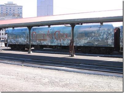 IMG_7659 Christmas Carol Train Car #800702 at Union Station in Portland, Oregon on July 1, 2009