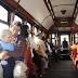 In de oude tram van lijn 1 in Porto