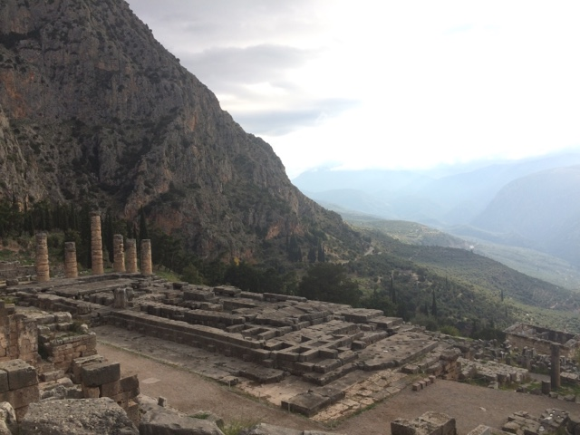 Greece: pictures from Delphi