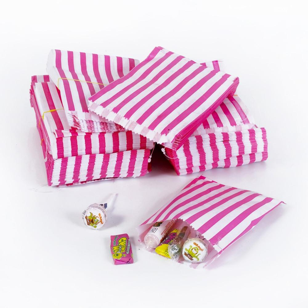 100 Pack - Candy Stripe