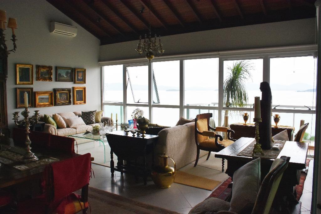 Cobertura 4 Dorm, Cacupé, Florianópolis (CO0094) - Foto 2