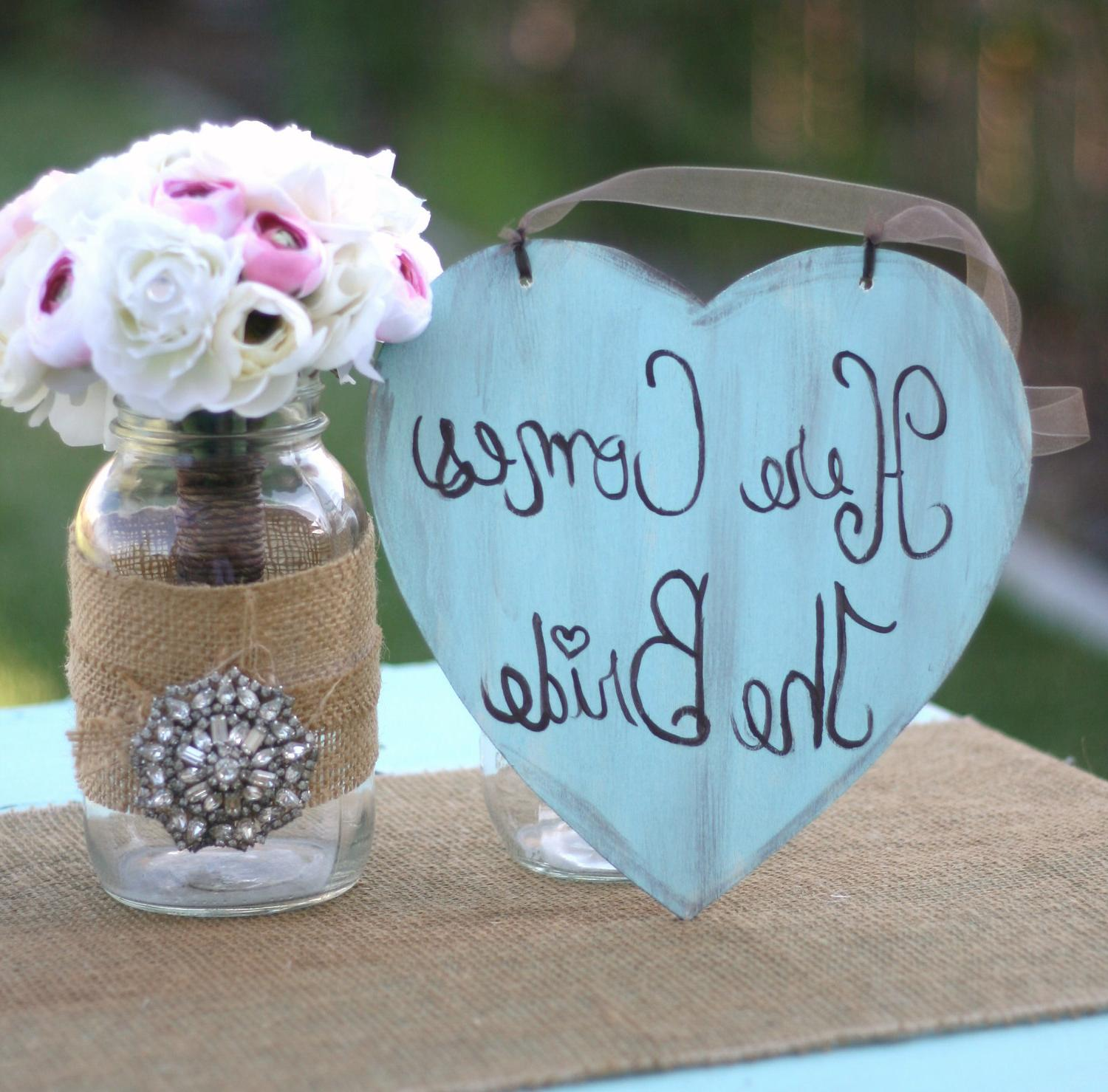 Sign Shabby Chic Wedding