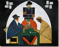 Die-Kartenspieler
