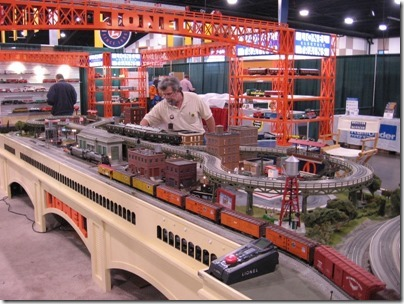 IMG_0668 Lionel Display Layout at the WGH Show in Puyallup, Washington on November 21, 2009