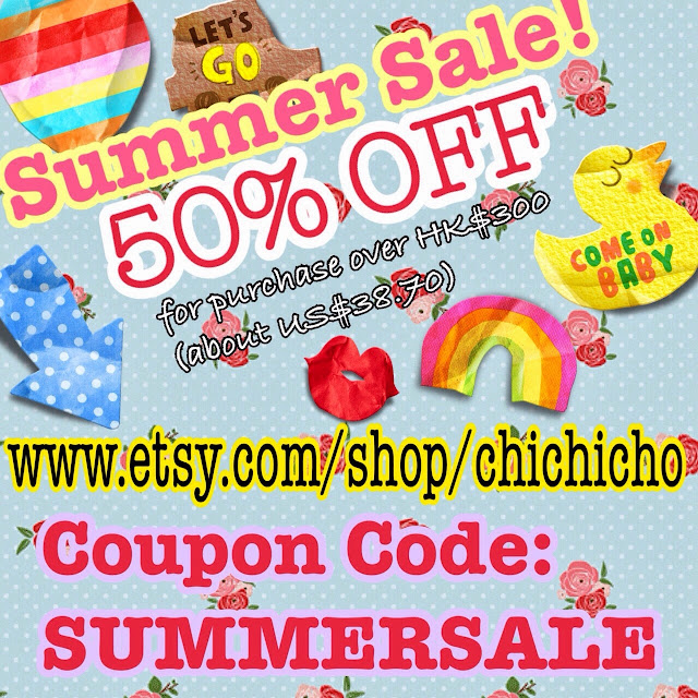 Nail Art Etsy Shop Sale - chichicho~