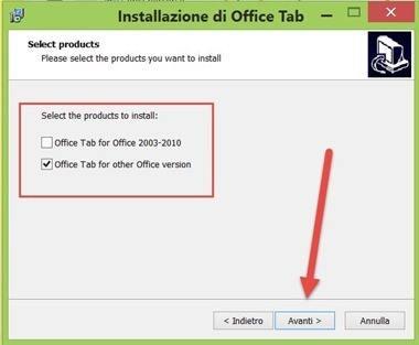 office-tab-installazione