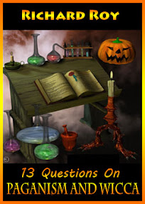 Cover of Richard Roy's Book 13 Questions On Paganism And Wicca
