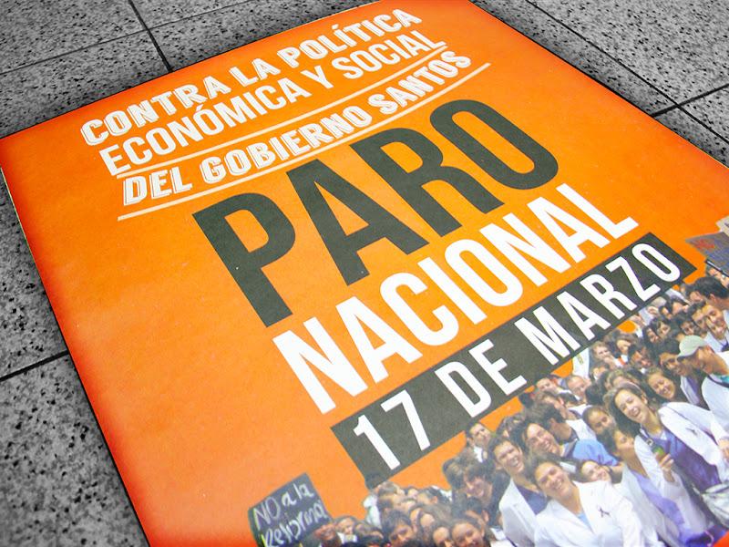 Circular No. 07: Jornada Nacional de movilización del 17 de marzo