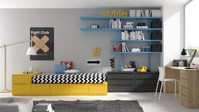 Los cajones de hasta 50 cms de fondo van con guias ocultas for Los mejores dormitorios juveniles