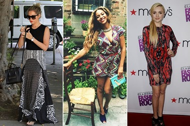 celebrities-wearing-tribal-print