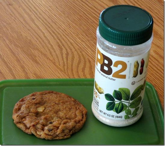 PB2 Chocolate Chip Cookies 2