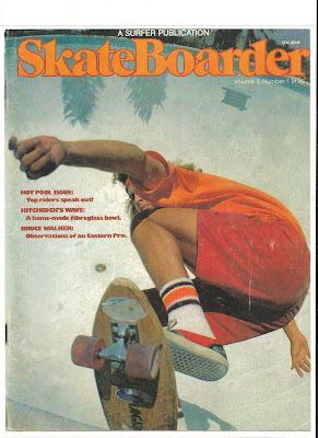Skateboarder magazine cover shot of Tony