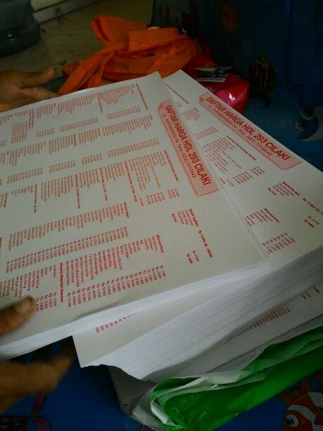 cetak brosur menu